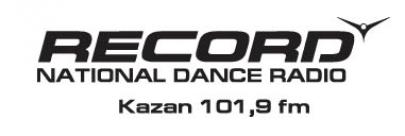 Логотип радио Record Казань